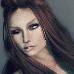 Model, Photographer   HER self :) (BijankRau   [ photograp'r model.]) Tags: sexy naughty model photographer brunette wink teaser clever lustoholic brau