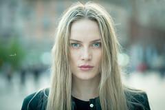 Stranger 94/100 - Yulia [#Explored 16/4/2016] (w@@t) Tags: milan model 100strangers