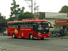Land Car Inc. 175 (Monkey D. Luffy 2) Tags: road city bus public photography photo coach nikon philippines transport vehicles transportation coolpix daewoo vehicle society davao coaches aspire nis philippine enthusiasts philbes