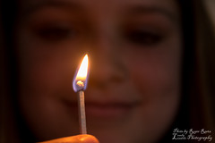 The Glow (Lovely Lizards Photography) Tags: portrait smile fire glow match lovelylizardsphotography