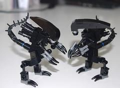 Lego Alien (littlebricker) Tags: soldier lego alien minifigure