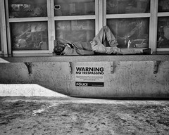 Warning (35mmStreets.com) Tags: street city portrait urban bw 35mm photography blackwhite nikon df little florida miami sony havana kittens d750 nik southbeach dsc sobe lightroom washingtonstreet d600 collinsave d4s silverefex 35mmstreets rx1rm2