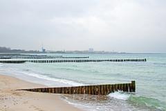 Markgrafenheide - Blick Richtung Warnemnde (www.nbfotos.de) Tags: strand warnemnde balticsea ostsee rostock mecklenburgvorpommern wellenbrecher buhnen markgrafenheide
