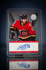 Sven Baertschi Totally Certified Auto (cdn_jets_cards) Tags: auto calgary hockey cards flames hl totally upperdeck certified 1314 nhlpa