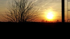 On the way home... (wait_for_april) Tags: trip travel sunset sun weather train way landscape poland polska sunny