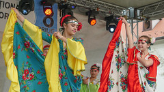 Romani Dancers, Sibiu, Romania (danperezfilms) Tags: dancers romania transylvania sibiu romani internationalromaday