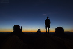 Before the sunrise - Monument Valley (Nino H) Tags: usa southwest monument nature silhouette sunrise rocks american valley navajos