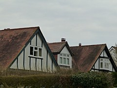 View from bus stop (Wider World) Tags: england house hampshire gable timbered mocktudor purbrook crookhorn