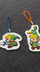 #zelda #link #crossstitch (walnutsprout) Tags: crossstitch link zelda