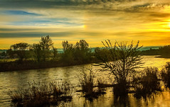 Sunrise On The Payette River (http://fineartamerica.com/profiles/robert-bales.ht) Tags: blue sunset red water beautiful clouds sunrise river spectacular awesome scenic surreal peaceful panoramic idaho sensational inspirational spiritual sublime magical emmett magnificent inspiring haybales canonshooter floodingriver treasurevalley gemcounty scenicbiway pacificnorthwestphotography riverphotography idahophotography robertbales americaphotography northamericaphotography payetteriverreflections scenicriverphotography