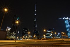 Burj Khalifa (ljmz79) Tags: longexposure night skyscraper dubai lx100 burjkhalifa