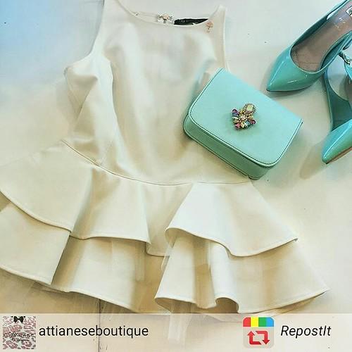 #verdetiffany #minibag #pochette #jewelsbag #store #showroom #boutique #rivenditoriautorizzati #outfit #dress @attianeseboutique