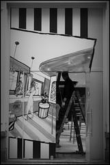 Gent (B) - Veldstraat - 2015/04/08 (Geert Haelterman) Tags: blackandwhite white black monochrome belgium candid streetphotography fujifilm zwart wit ghent gent gand geert streetshot x10 photoderue straatfotografie photographiederue fotografadecalle strassenfotografie fotografiadistrada haelterman