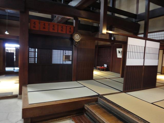 吉島家住宅を一番象徴する1階吹き抜け部分|吉島家住宅