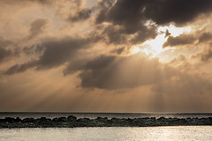 Baa Atoll (AF | PHOTO) Tags: sunset sea sun water clouds landscape lights baa vacanza maldive