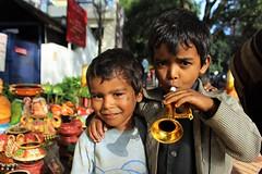 Pose (bluelotus92) Tags: india kids happy bangalore fraternity roads roadside karnataka happyface basavanagudi bengaluru bulltempleroad kadalekaiparise