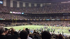 Saintsgame_wave (MetrohicKS) Tags: football neworleans saints superdome metrohicks