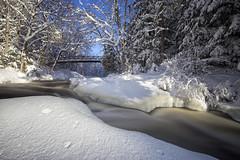 Winter's touch (JD~PHOTOGRAPHY) Tags: winter snow ontario nature landscape waterfall winterwonderland snowcovered winterweather northernontario arrowheadprovincialpark diamondclassphotographer stubbsfalls