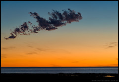 Nube de un amanecer grutense