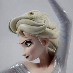 Elsa Maquette Reproduction Figurine - Deboxed and Assembled - Closeup Right Side View (drj1828) Tags: frozen disney animated resin figurine purchase limitededition elsa snowqueen enesco deboxed waltdisneyarchivescollection