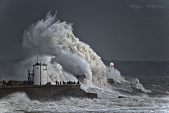 BIG Wave Wednesday (oddie25) Tags: lighthouse storm weather wales canon frank landscapes waves wave storms porthcawl bigwave 500mmf4 1dx stormfrank