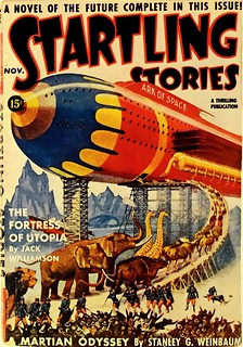 Startling Stories Vol. 2, No. 3 (Nov., 1939). Cover Art by Howard V. Brown