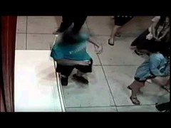 Boy trips punches hole in $1 5 million painting (videogallerianet) Tags: painting hole million trips punches