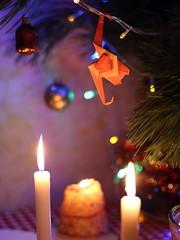Happy New Year! С Новым годом! (ronatka) Tags: monkey origami newyear tomokofuse ef50mmf14usm harmonypaper