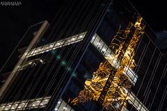 The city reflex (Kindallas) Tags: city brazil tower glass brasil night canon 50mm mirror avenida antena t5 paulo build avenue são antenna paulista skyscreper