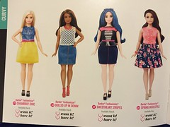 2. Fashionistas 2016 Booklet (Foxy Belle) Tags: toy book doll barbie diversity curvy booklet fashionista catalogue mattel fashionistas 2016