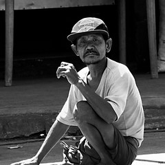 Michael (Beegee49) Tags: street city man michael sitting floor philippines beggar bacolod amputee