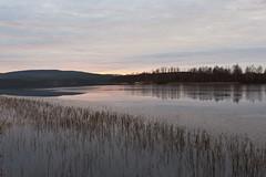 Syysmaisema - Autumn landscape (ikithule) Tags: lake ice finland landscape rovaniemi maisema vesi mets syksy jrvi j kulttuuri jannemaikkula marrasjrvi ikithule