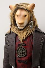 PAViLiON.k lion (Damasquerade) Tags: outfit doll artist body head lion clothes bjd hybrid edan anthro sculpt iplehouse buddydoll pavilionk