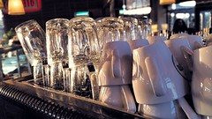 CupsCupsCups (tdalpert) Tags: coffee shop mugs israel cozy cafe warm tea drink netanya drinking cups drinks neto