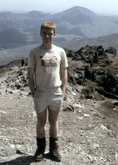 me 1984 (gopper) Tags: raf mrt 16mu rafstafford rafmountainrescue mountainrescue troop sar snowdon snowdonia wales welsh cymru shorts short boots uk british rescue young 1984 mountain mountains