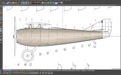 SPADXIII-WIP 3 (StratoArt) Tags: history 3d aircraft aviation military wwi cinema4d warbird biplane warplane spad xiii