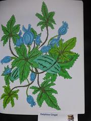Jardins  colorier de Maud Taron (First ditions) (delphinecingal) Tags: colors couleurs coloring coloriage maudtaron zendessin firstditions feutresdocraftsartiste jardinscolorier