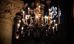 Notre Dame Chandelier - Paris, France (The Web Ninja) Tags: lighting light paris france architecture photography lights photo europe eu explore chandelier notre dame explored