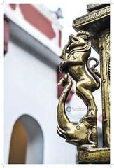 (Ramalakshmi Rajan) Tags: india temple nikon bangalore temples nikkor35mm yazhi nikond5000 brassidol kadumalleshwarartemple