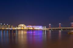 MUPA (gabrieladawn79) Tags: nightphotography blue night hungary budapest duna danube mupa rkczihd