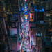 Flying Above Times Square