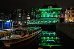 Time for a coffee (McQuaide Photography) Tags: city longexposure nightphotography travel winter light urban holland reflection history tourism water netherlands dutch amsterdam architecture night zeiss photoshop outside licht boat lowlight europe waterfront nacht outdoor sony famous tripod capital nederland coffeeshop wideangle landmark historic grasshopper fullframe alpha marijuana cannabis waterside touristattraction stad canalboat manfrotto noordholland lightroom cruiseboat canalcruise damrak wideanglelens capitalcity 1635mm northholland a7ii famousplace groothoek thegrasshopper variotessar mirrorless sonyzeiss mcquaidephotography ilce7m2