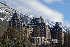Castle in the Rockies (~ Mariana ~) Tags: winter friends sky canada building architecture clouds landscape nikon ab rockymountains mariana mountrundle banffnationalpark fairmontbanffsprings castleintherockies paololivornosfriends saariysqualitypictures outstandingromanianphotographers marculescueugendreamsoflightportal