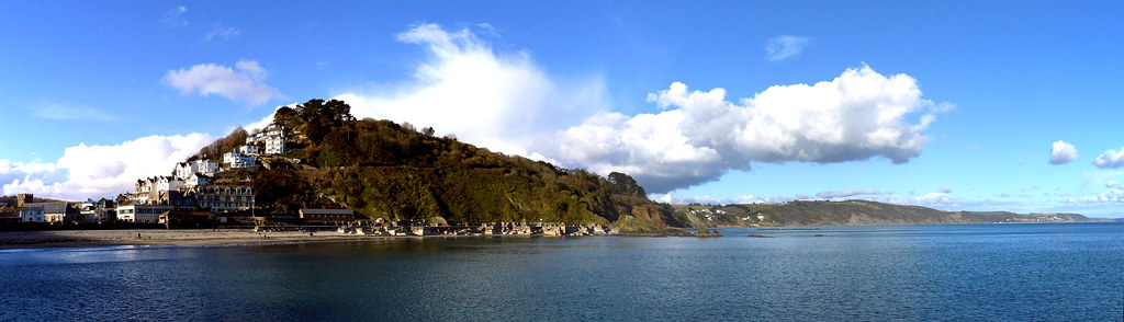 Looe Bay Panorama 21. Nikon D3200. DSC_0273-0277.