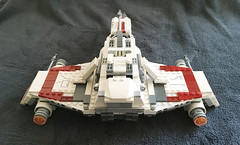 IMG_1252 (lee_a_t) Tags: starwars fighter lego xwing spaceship ewing rebels starfighter darkempire legoxwing legostarfighter legoewing