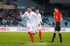 Getafe vs Sevilla (Kwmrm93) Tags: sports sport canon football spain fussball emotion soccer celebration futbol celebrate futebol fotball celebrating voetbal fodbold calcio deportivo fotboll getafe  deportiva esport fusball  fotbal jalkapallo  nogomet fudbal  ligaespaola ligabbva everbanega votebol fodbal   coliseumalfonsoperez