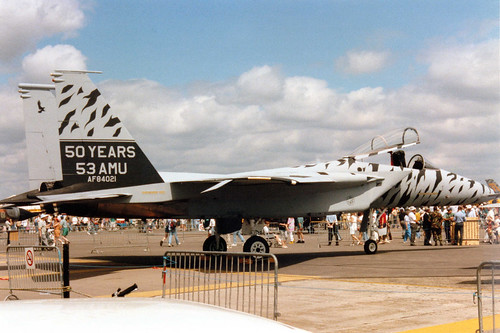 84-0021 McDD F-15C Eagle cn C324/931 US Air Force RAF Fairford 21Jul91