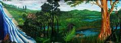 (Felipe Smides) Tags: naturaleza animal mural niebla pintura valdivia mapuche territorio muralismo lahuella lafkenche smides felipesmides