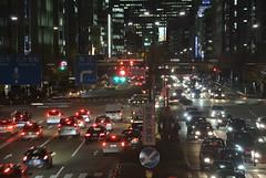 nagoya14687 (tanayan) Tags: road street light urban japan night town alley nikon cityscape view nagoya  sakura sakae  aichi j1