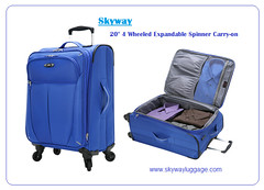 "20"" 4 Wheeled Expandable Spinner Carry-on (skyway luggage) Tags: bag luggage spinner carryon skyway"